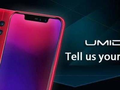 New UMIDIGI Z2 Design Leak Suggests In-Display Fingerprint Sensor