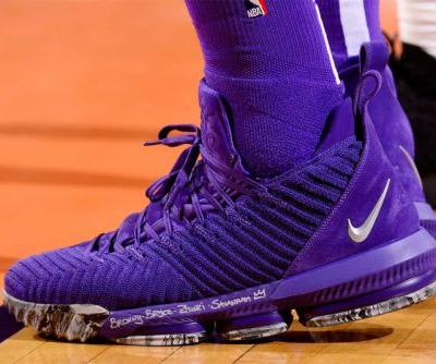 LeBron James Powers Past Phoenix Suns in New Nike LeBron 16 PE