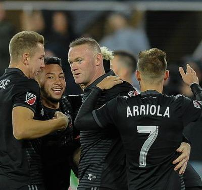Rooney nets first MLS hat trick as D.C. United rolls, Sounders continue hot start
