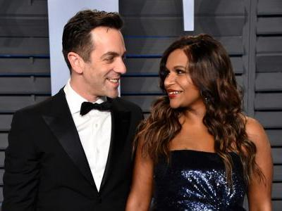 Mindy Kaling and BJ Novak Reunite at the Oscars, Reignite Our Kelly and Ryan Dreams