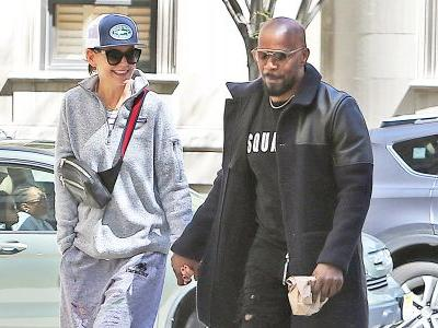 Katie Holmes and Jamie Foxx Holding Hands While Walking Down the Street Is Melting Our Hearts
