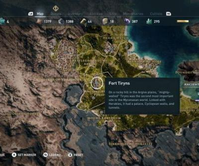 Assassin's Creed: Odyssey's hidden Historical Locations map is stuffed with Ancient Greek lore