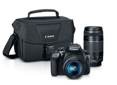 The Canon EOS Rebel T6 two-lens kit gets $300 off ahead of Prime Day