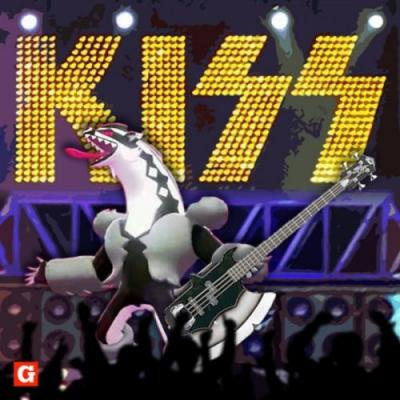 Gene Simmons flattered to see Pokemon Co. seemingly taking inspiration from KISS for Pokemon Sword & Shield's Obstagoon