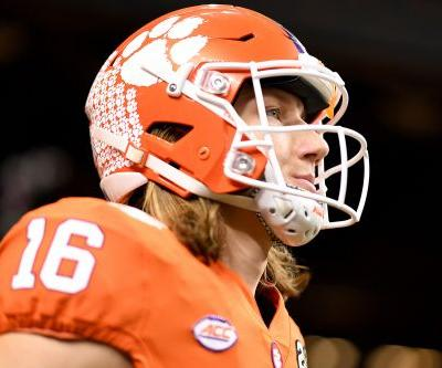 Trevor Lawrence returns for packed college football slate