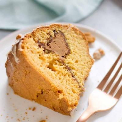 Cookie Butter Coffee Cake