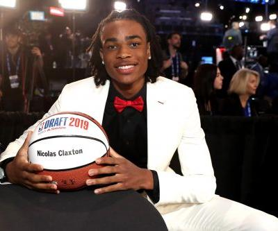 Nets pick Nicolas Claxton to open second round of NBA draft