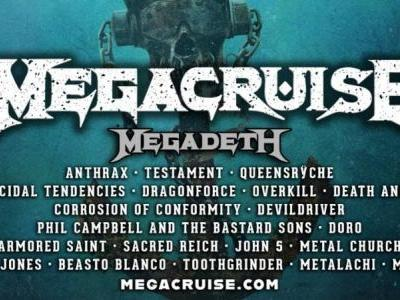 Megadeth's Megacruise adds Queensrÿche, Suicidal Tendencies, Death Angel, and more