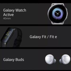 Samsung gets sloppy, revealing all three wearables due for a release next week