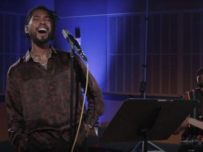 """Miguel Shares New Song """"Python"""" And A Cover Of Red Hot Chili Peppers' """"Porcelain"""""""