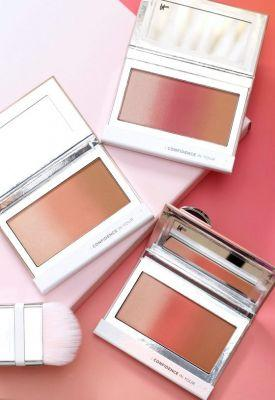 It Cosmetics Confidence In Your Glow Blushing Bronzer, or Neapolitan Ice Cream? You Be the Judge