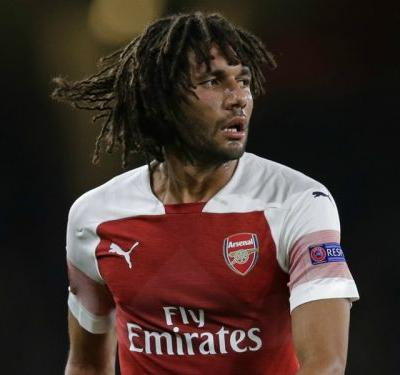 Arsenal's Mohamed Elneny ruled out for two weeks with injury