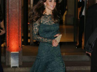 Kate Middleton's Latest Red Carpet Look Was Head-To-Toe Lace & Stunning
