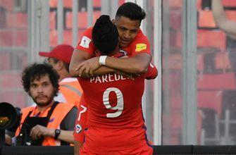Watch: Alexis Sanchez delivers goal, assist in Chile's World Cup qualifying win