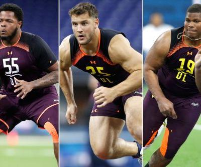 Ranking top five O-linemen, D-linemen and edge rushers in NFL Draft