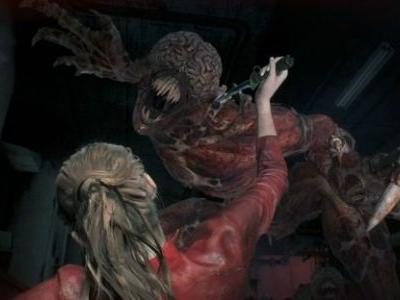 Don't Avert Your Eyes When Looking at Resident Evil 2's New Gory Screenshots