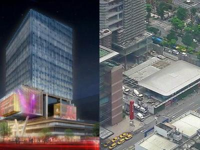 New photos detail possible construction of second Taiwanese Apple retail store