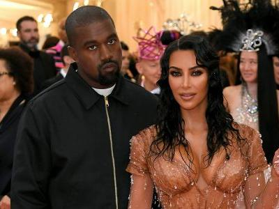 Kim Kardashian Drips in Jewels at the 2019 Met Gala With Hubby Kanye West
