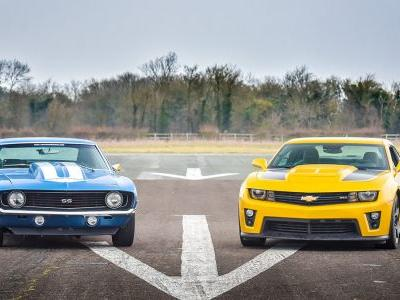 American muscle cars are knocking on the doors of European elites
