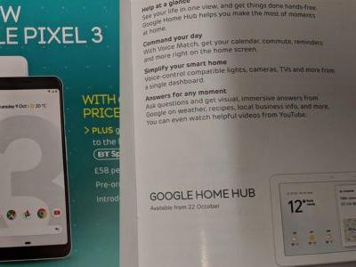Carrier ad hints at Pixel 3 'Top Shot' camera feature, pricing, Home Hub launching Oct 22nd