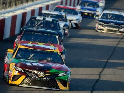 NASCAR results at Richmond: Kyle Busch comes from back of field to win third straight race