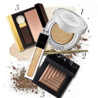 Every Sparkly, Golden Makeup Product You Need for Fall