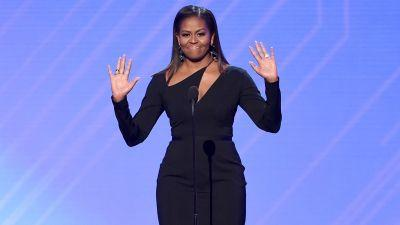 Michelle Obama's Little Black Dress Is Anything But Boring