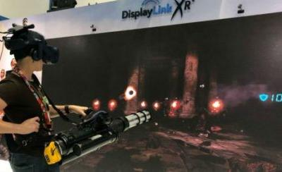 E3 2018: Watch how Serious Sam VR works with a Gatling gun