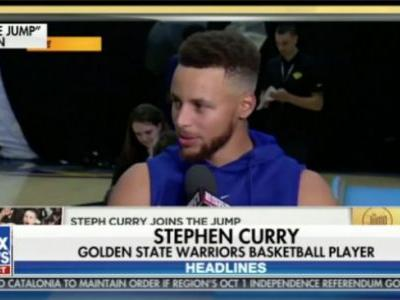 Yes, Fox & Friends Covered Stephen Curry Minutes Before Trump Tweeted