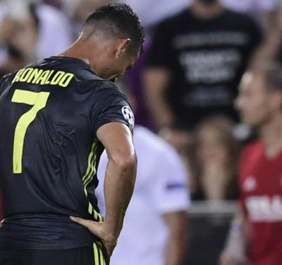 Ronaldo left 'angry' by red card - Bonucci