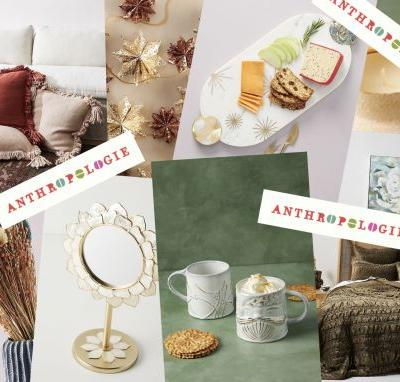 Anthropologie's Black Friday 2020 Home Sale Means 30% Off EVERYTHING