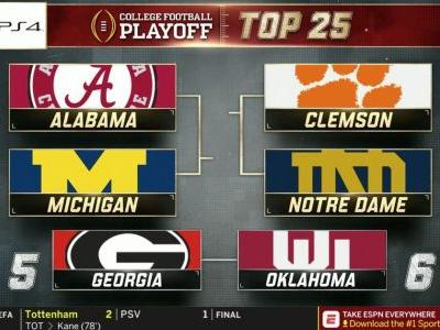 Notre Dame Football Ranked 3 In CFB Playoff Rankings With Three Games Left