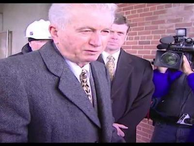 Archives: Tommy D'Alesandro opens Memorial Stadium time capsule