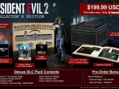 $200 Resident Evil 2 Remake Collector's Edition Includes Leon Kennedy Figure, RPD Blueprints