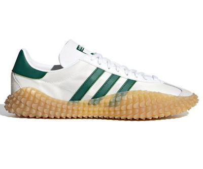 "Adidas Originals Debuts the Kamanda Country in ""White/Green"""