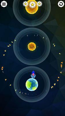 Blast off from one planet to the next in Gravity Galaxy, now out on Google Play