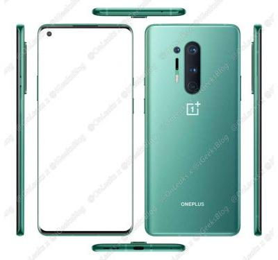 Check Out The Green OnePlus 8 Pro From All Angles: Leak