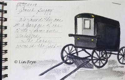 Journal - Amish Buggy