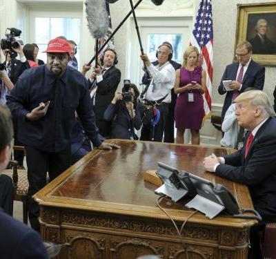 Lunch Was the Only Normal Thing About Donald Trump and Kanye West's Meeting