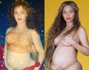 Beyoncé Unveils Her Full Pregnancy Photoshoot
