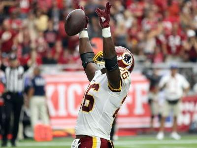 Adrian Peterson reaches 2 rare milestones with Redskins