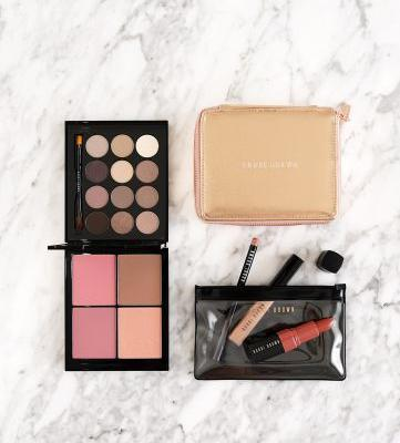 Bobbi Brown Deluxe Eye + Cheek Set and Nude Lip Color Trio Review