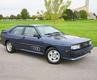 At $49,995, Would Buying This 1984 Audi Quattro Put You Off to a Good Start?