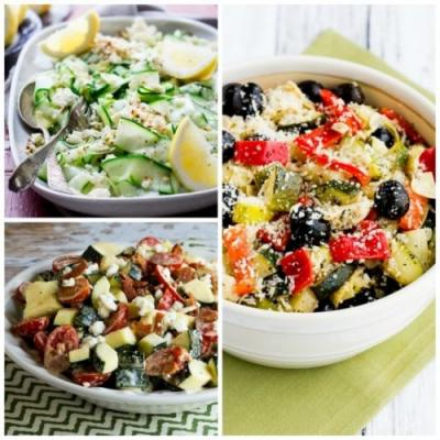 20 Amazing Low-Carb Salads with Zucchini