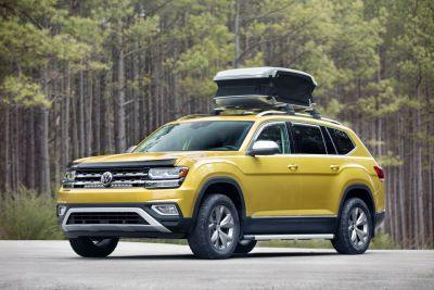 Volkswagen just revealed a decked out concept of its new Atlas SUV - here's a first look