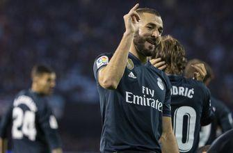 Benzema taking charge of Solari's revamped Real Madrid