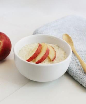 Peach Cream of Wheat