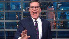 Colbert Taunts Trump With Visual Evidence OfHow Obama Really Treated Children