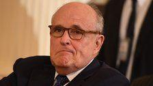 Rudy Giuliani Says 'Don't Quote Me On That' In Middle Of Live TV Interview