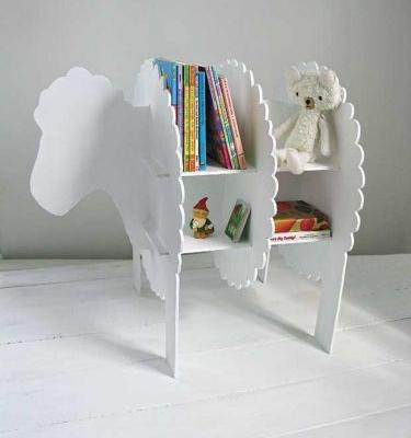 DIY: Make an easy sheep-shaped bookcase
